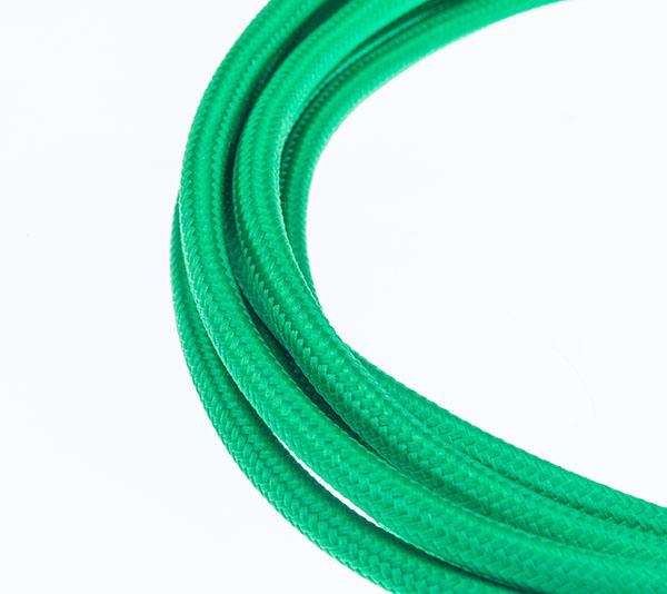 Tekstilni kabl - zelena