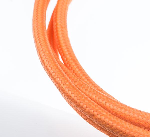 Tekstilni kabl - narandžasta