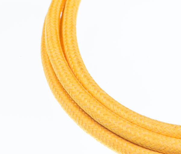 Tekstilni kabl - žuta