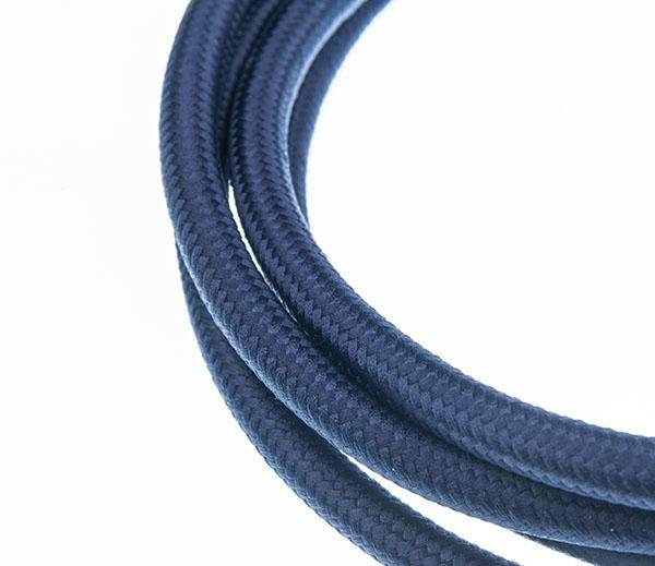 Tekstilni kabl - mastilo plava