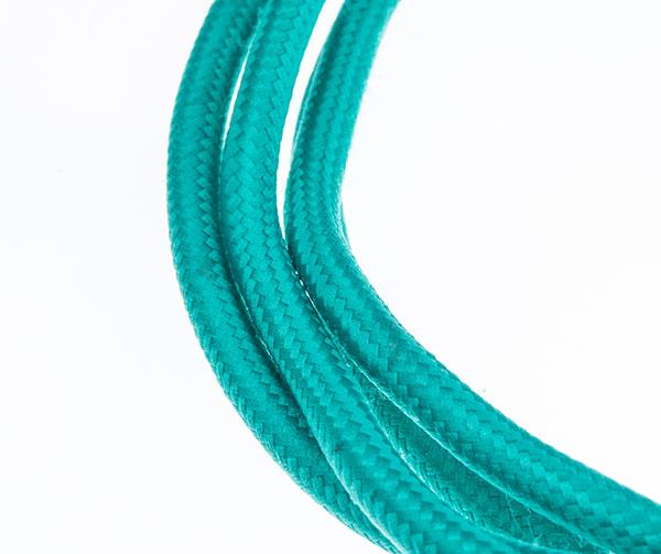 Tekstilni kabl - tirkizna