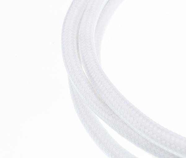 Tekstilni kabl - bela