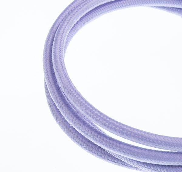 Tekstilni kabl - ljubičasta