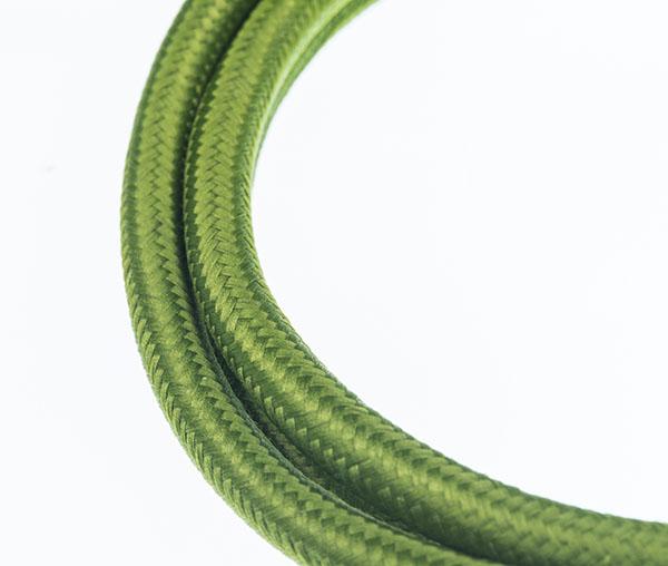 Tekstilni kabl - lime zeleni