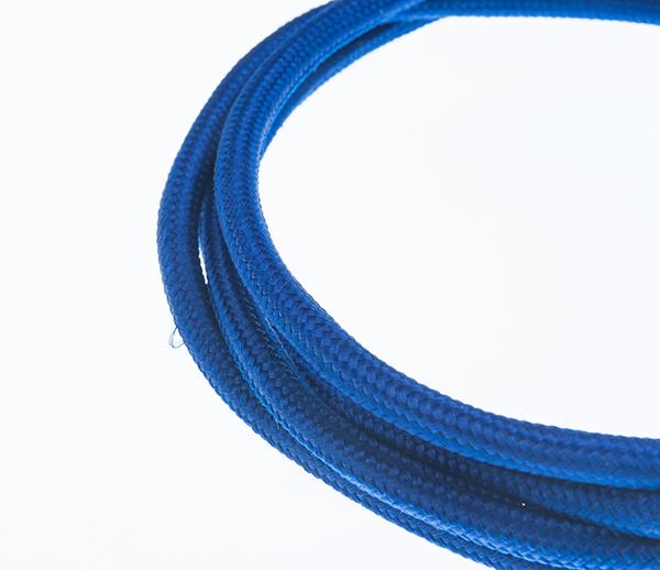Tekstilni kabl - tamno plava