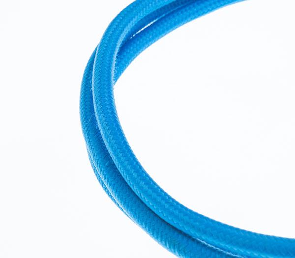 Tekstilni kabl - plava