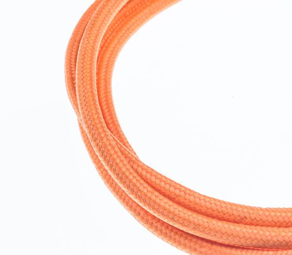 Tekstilni kabl - svetlo narandžasta