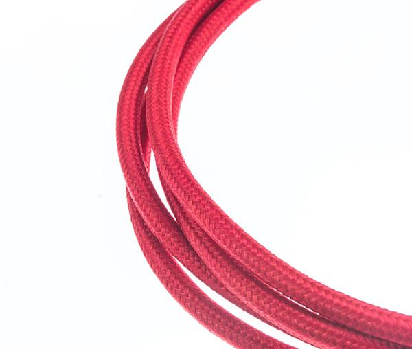 Tekstilni kabl - crvena